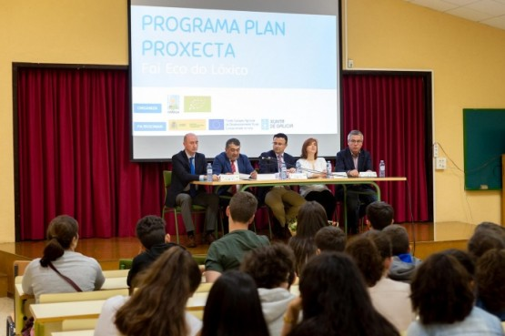 Presentación do programa escolar Fai Eco do Lóxico