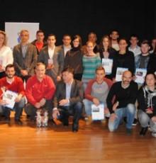 A gala do piragüismo galego pecha a tempada premiando a Tono Campos e Ana Varela como os mellores padexeiros