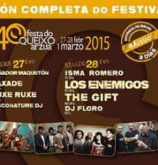 A XL Festa do Queixo de Arzúa contará con Caxade, Ruxe Ruxe, Los Enemigos, The Gift, Kepa Junquera e Treixadura