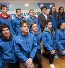 Lete Lasa recibe aos participantes no Campionato de España de Baloncesto Cadete