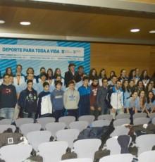 Lete Lasa recibe os participantes nos campionatos escolares de España de Balonmán 2015