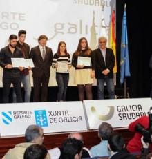 Lete Lasa recibe os deportistas coruñeses campións de España en categorías absoluta ou previa á absoluta