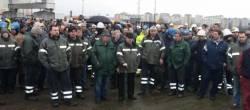 Os traballadores de Navantia Ferrol secundan o paro dos operarios das auxiliares