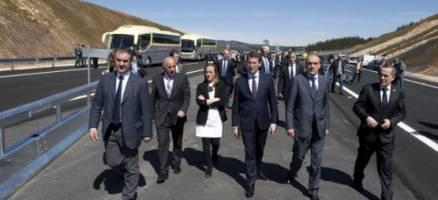 Apertura dos primeiros 23 quilómetros da A-54 entre Nadela e Guntín
