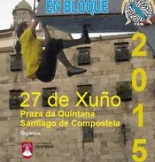 A Quintana acolle a primeira proba da Copa Galega de Escalada en Bloque
