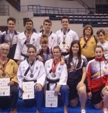 Unha prata e dous bronces galegos para pechar o Europeo de Técnica e Freestyle