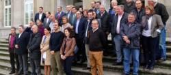Os alcaldes do PP protestan ante a Deputación de Pontevedra por falsear datos do Plan Concellos 2016