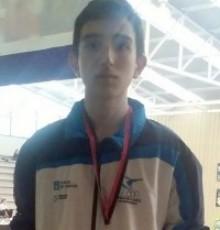 Rodrigo Varela acada o ouro no Circuíto Profesional de Taekwondo