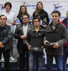 Pablo Cabello e Javier Lago coroáronse campións de Galicia de Vaurien tres anos despois do seu último título