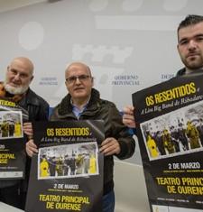 Os Resentidos retornan da man da Deputación de Ourense e da big band da Lira