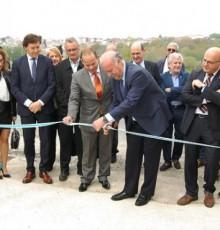 Vicente del Bosque asiste á inauguración das novas instalacións deportivas do antigo campo de fútbol de Maceda