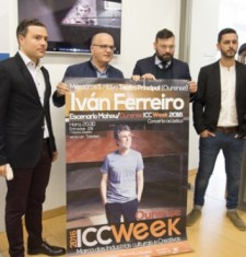 A Deputación de Ourense presenta o concerto de Iván Ferreiro que se inclúe no programa da ICC Week 2016