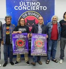 Los Suaves despídense dos escenarios en Ourense