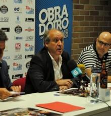 """José García: """"É un orgullo que se dispute en Cerceda un partido deste nivel entre o Rio Natura Monbus Obradoiro e o FC Porto"""""""