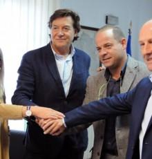 Concello de Maceda e Secretaría Xeral para o Deporte asinan un convenio para a construción dun circuíto de adestramento ciclista Pump Track