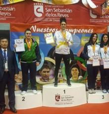 Tania Gándara acada o bronce no Campionato de España Sénior de Taekwondo