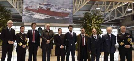Francisco Conde asiste á entrega do buque oceanográfico Carrasco ao Goberno de Perú