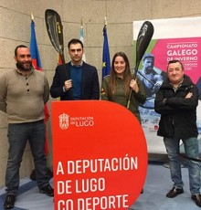A Deputación de Lugo leva a Taboada o Campionato Galego de Piragüismo