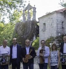 Carlos Núñez retorna a música medieval a Montederramo, Oseira e Santo Estevo cos instrumentos do Pórtico do Paraíso