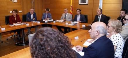 A Xunta reúnese coa Fegamp e as entidades do terceiro sector na Comisión de Seguimento da Axenda Social de Galicia