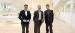 O premio Nobel Serge Haroche visita a Cidade da Cultura de Galicia