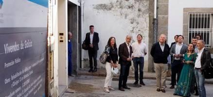 A rehabilitación de tres edificios no Casco Histórico de Betanzos permitirá dispoñer de seis vivendas de promoción pública e tres locais comerciais