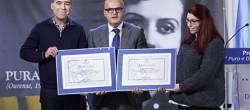 """Antonio Yáñez e María Díaz reciben o XIV Premio """"Pura e Dora Vázquez"""""""
