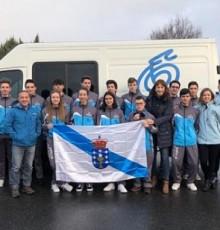 Marta Míguez acompaña á delegación galega de ciclismo na viaxe a Legazpi (Guipúscoa) para participar no Campionato de España de Ciclocross