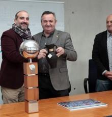 Balseiro recibe ao equipo Club Baloncesto Breogán, campión da Copa Princesa