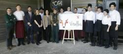 Os alumnos de hostalería crean un restaurante dedicado en exclusiva á IXP Ternera Gallega