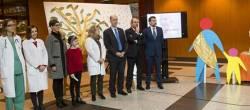 O conselleiro de Sanidade destaca o compromiso do Sergas co cancro infantil