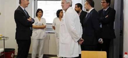 Almuiña destaca a dotación do Centro Integral de Saúde Taboada Leal, o primeiro destas características en Galicia