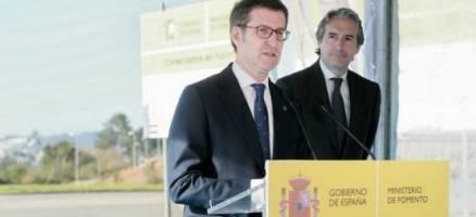 """Feijóo: """"A conexión da AP-9 será un paso cara adiante para a Cidade da Cultura, para Santiago e para Galicia"""""""