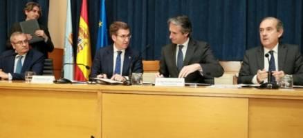Feijóo e o Mininstro de Fomento asinan o protocolo relativo ao desenvolvemento dos terreos portuarios