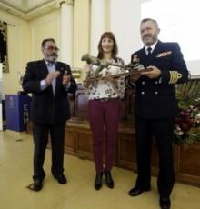 Marta Míguez felicita á Federación Galega de Vela polo título de Real na presentación da Copa Galicia de Cruceiros OCR 2018