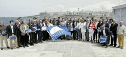 As 124 bandeiras azuis sitúan Galicia como un destino turístico de costa de calidade e sustentable