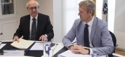 A Xunta analiza coa fiscalía o plan de recuperación de traballo na Administración de Xustiza
