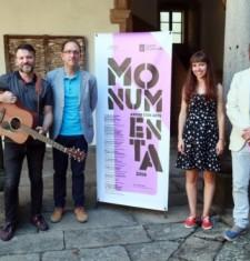 'Monumenta andar con arte' incorpora música a percorridos que achegan o patrimonio cultural á cidadanía