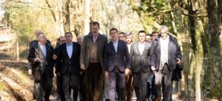 Feijóo asiste xunto coa S.M. o Rei Felipe VI á conmemoración do Día Internacional dos Bosques