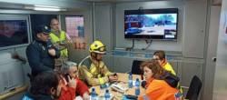 A Xunta participa nun simulacro de accidente aéreo no aeroporto de Santiago de Compostela