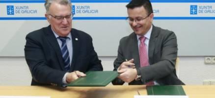 Xunta, Seaga e Fegamp asinan unha addenda para mellorar o convenio de defensa e protección das aldeas fronte os incendios