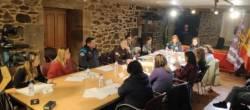 A Xunta participa na constitución da mesa local de coordinación interinstitucional contra a violencia de xénero de Santa Comba