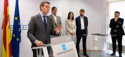 Feijóo destaca que a colaboración institucional entre a Xunta e o Concello de Arteixo facilitará a Estrella Galicia facer unha reserva de solo no Polígono de Morás