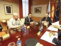 Xunta e Delegación do Goberno avalían os protocolos de actuación da Unidade Militar de Emerxencias nos incendios en Galicia