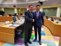 A Xunta reitera en Bruxelas a súa defensa dunha PAC común para toda a UE pero que contemple as peculiaridades do agro galego