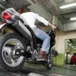 Inspección dunha moto