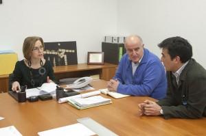 Reunión de Rivas co alcalde da Rúa