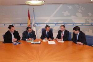 Reunión dos rexedores co Conselleiro de Infraestruturas