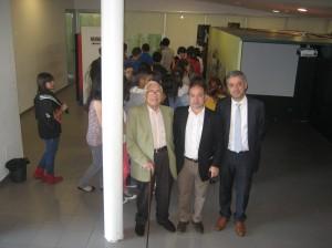 Neira Vilas na inauguración