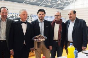 Xesús Vázquez no evento gastronómico